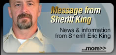 Message from Sheriff Underwood